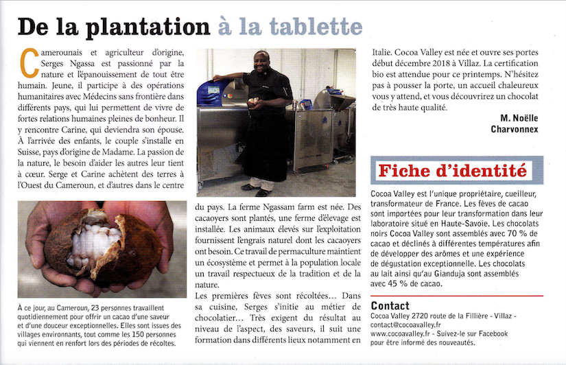 ARTICLE DANS LE THEOLIEN PRINTEMPS 2019